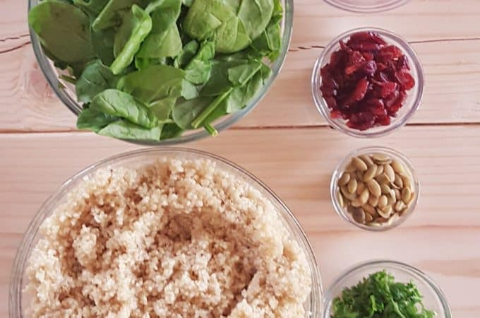 Quinoa Salad - @shawsimpleswaps The perfect vegan, gluten free and paleo friendly salad to hit your menu this year!