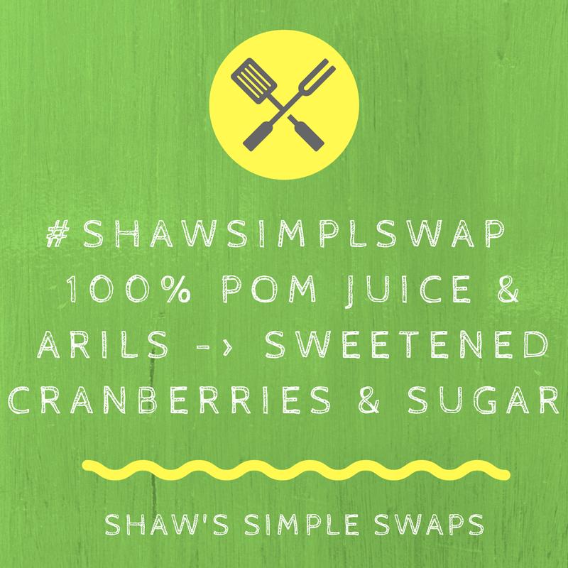 Broccoli Salad with Pomegranate Arils & Maple Walnuts- Vegan & Gluten Free @shawsimpleswaps