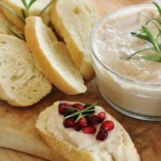 White Bean Rosemary Spread + Delicious Homemade Appetizer Inspiration