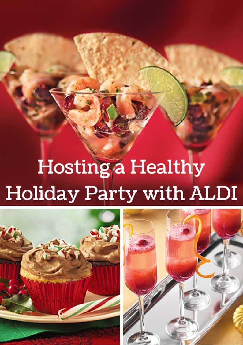 Healthy Holiday Party- How to create a budget friendly holiday experience with ALDI! @shawsimpleswaps #ad
