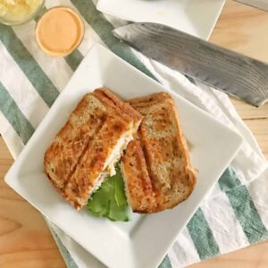 Healthy Pork Loin Reuben - High protein, whole grains and filled with flavor! @shawsimpleswaps