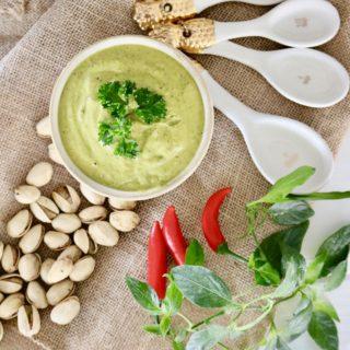 Cilantro Pistachio Pesto – Vegan, Paleo & Gluten Free