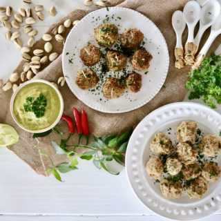 Pistachio Turkey Meatballs – Paleo, Gluten Free and 100% Yummy!