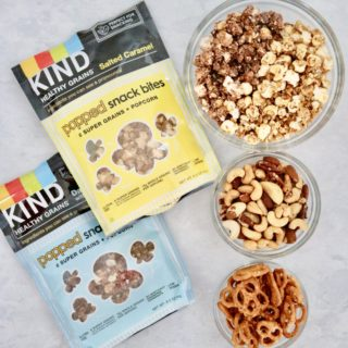 Salted Caramel and Dark Chocolate Ancient Grain Snack Mix – Gluten Free + Vegan