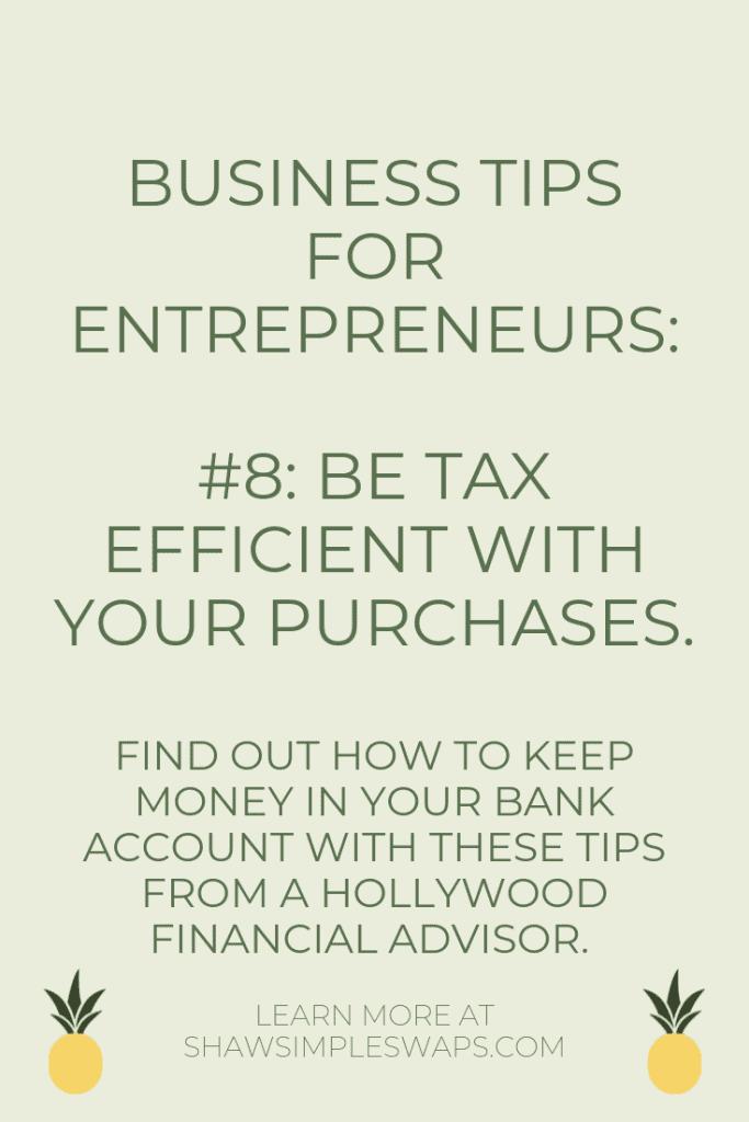 Tips for entrepreneurs #8