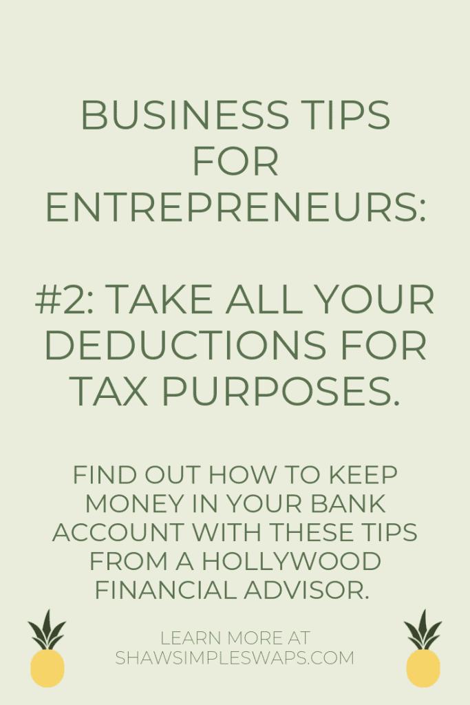 Tip for entrepreneurs #2