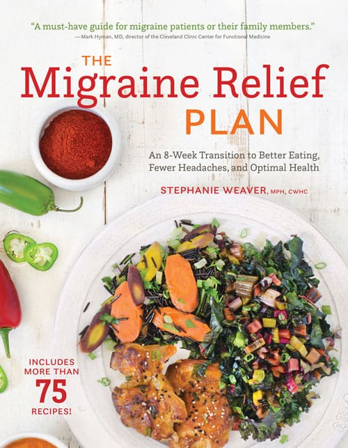 Nutrition Tips for Migraine Relief - A Review of Stephanie Weaver's Latest Book! @shawsimpleswaps