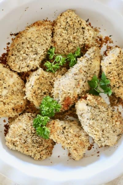 Oven Baked Chicken Tenders - KFC Has a New Competitor on the Market! @shawsimpleswaps