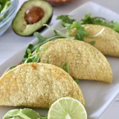 Cowboy Salsa Tacos – Vegan, Gluten Free & Ready in 5 Minutes, Flat!