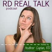 RD Real Talk Podcast - A look behind Shaw's Simple Swaps & My Passion Project @shawsimpleswaps