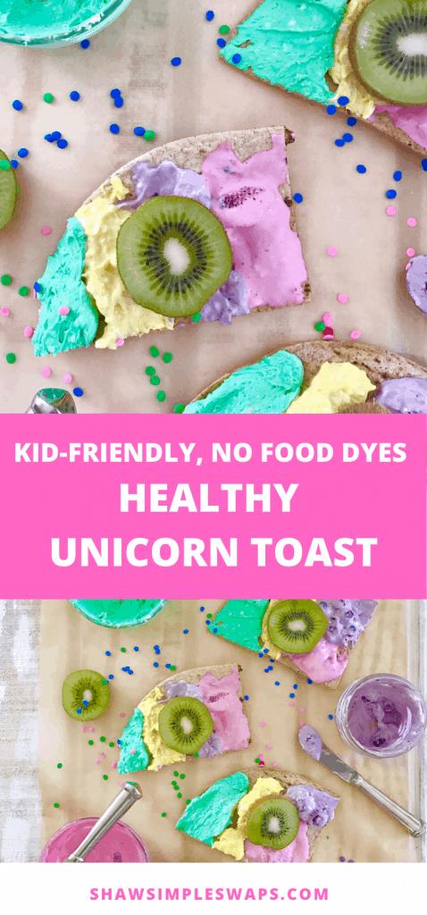 Healthy Unicorn Toast