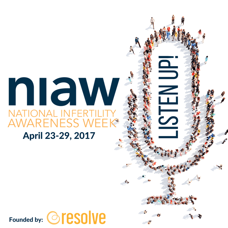 Listen Up - National Infertility Awareness Week 2017 @shawsimpleswaps