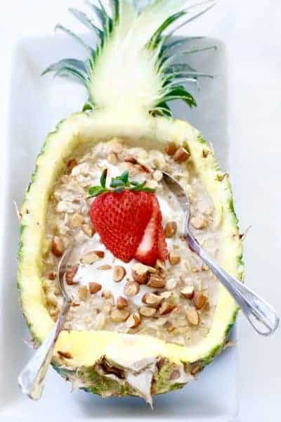 Tropical Oatmeal - An Escape to Paradise! @shawsimpleswaps