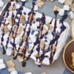 S'mores Icebox Cake with Halo Top Creamery @shawsimpleswaps