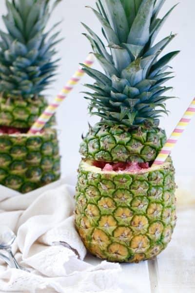 Pomegranate Pineapple Granita @shawsimplswaps