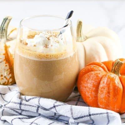 Frozen Pumpkin Spice Latte