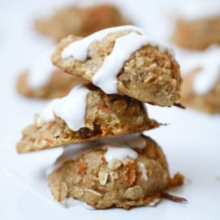 Carrot Cake Cookies with Crushed Pineapple – Coconut Free