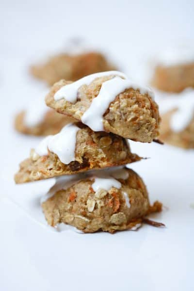 Carrot Cake Cookies with Crushed Pineapple - Coconut Free @shawsimpleswaps