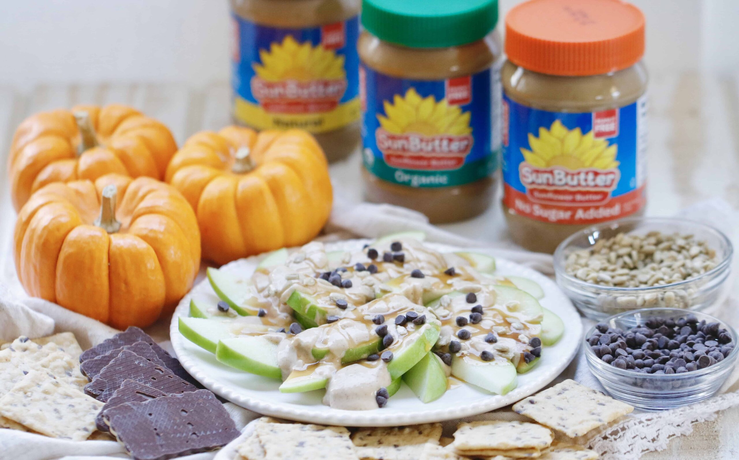 Maple Sunflower Seed Dessert Dip - Tree Nut, Peanut & Gluten Free @shawsimpleswaps
