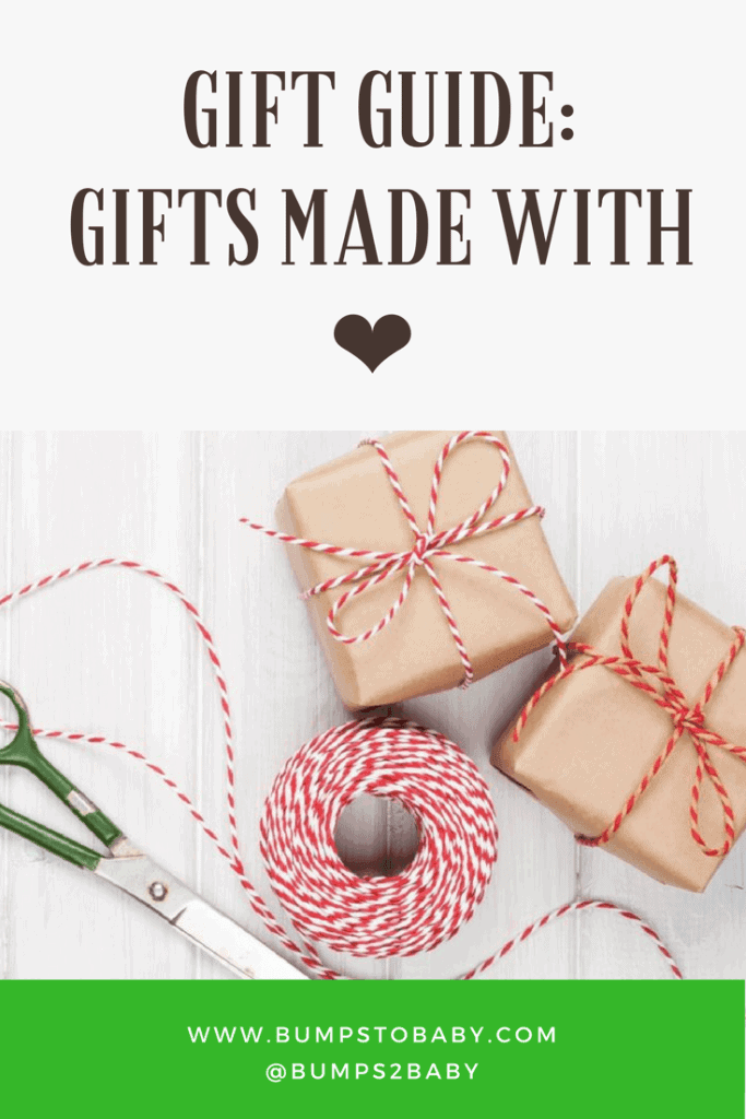 Gift Guide: Support Small Business & Give Hope To Those On A Mission @bumpstobaby