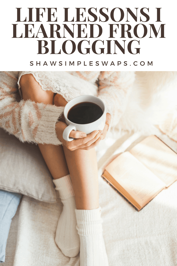 4 Life Lessons I learned from Blogging @shawsimpleswaps