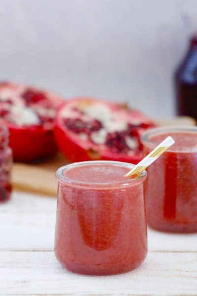 Pomegranate Apple Smoothie with Butternut Squash @shawsimpleswaps