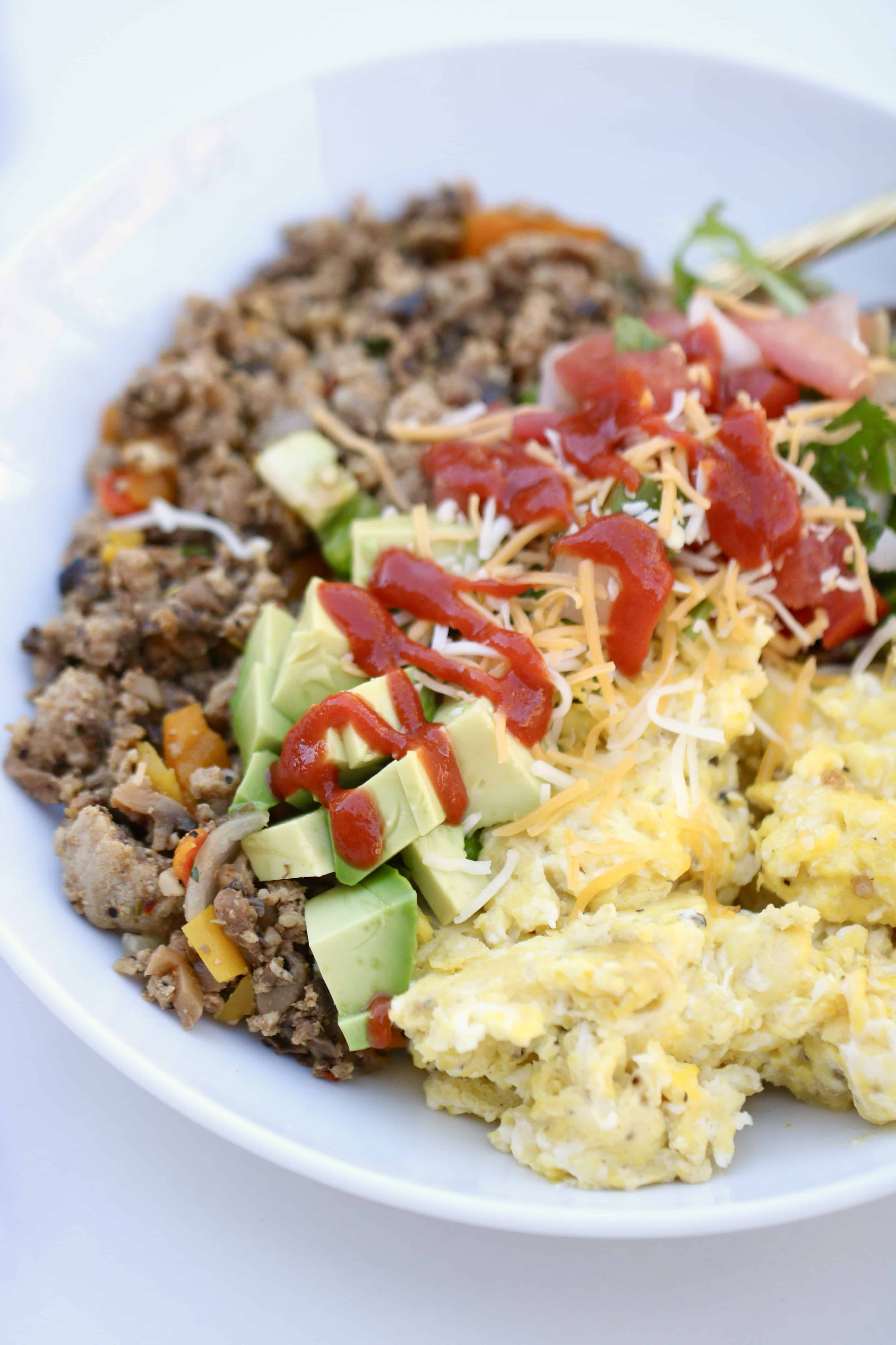 California Breakfast Burritos - Embracing the Blend! @SHAWSIMPLESWAPS