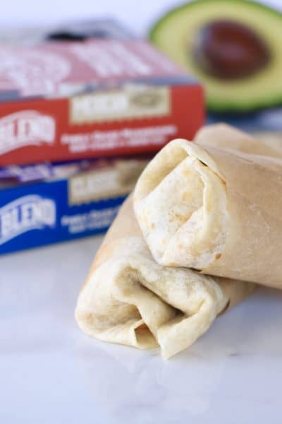 California Breakfast Burritos - Embracing the Blend! @SHAWSIMPLESWAPS
