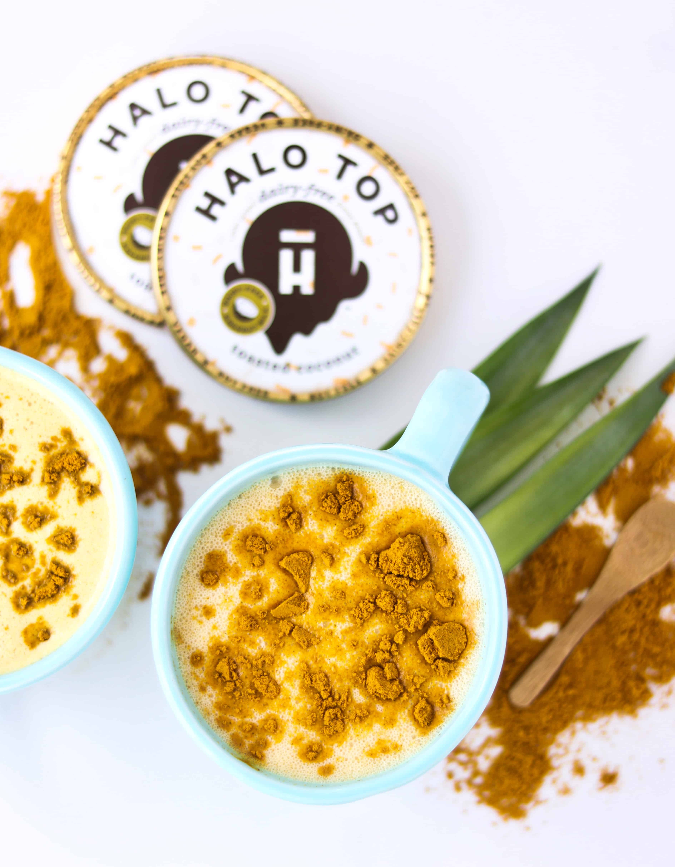 Golden Milk Latte - Dairy Free, Vegan @shawsimpleswaps