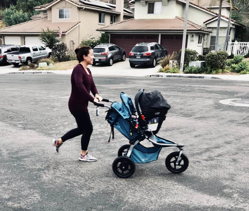 Postpartum Exercise - Easing Back Into Joyful Movement with Bob Strollers @bumps2baby