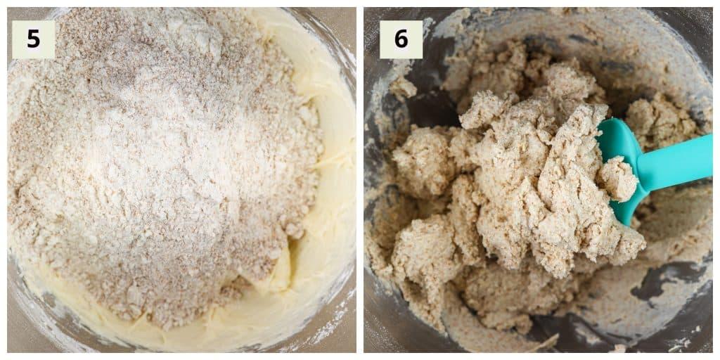 Sugar cookie process shots.