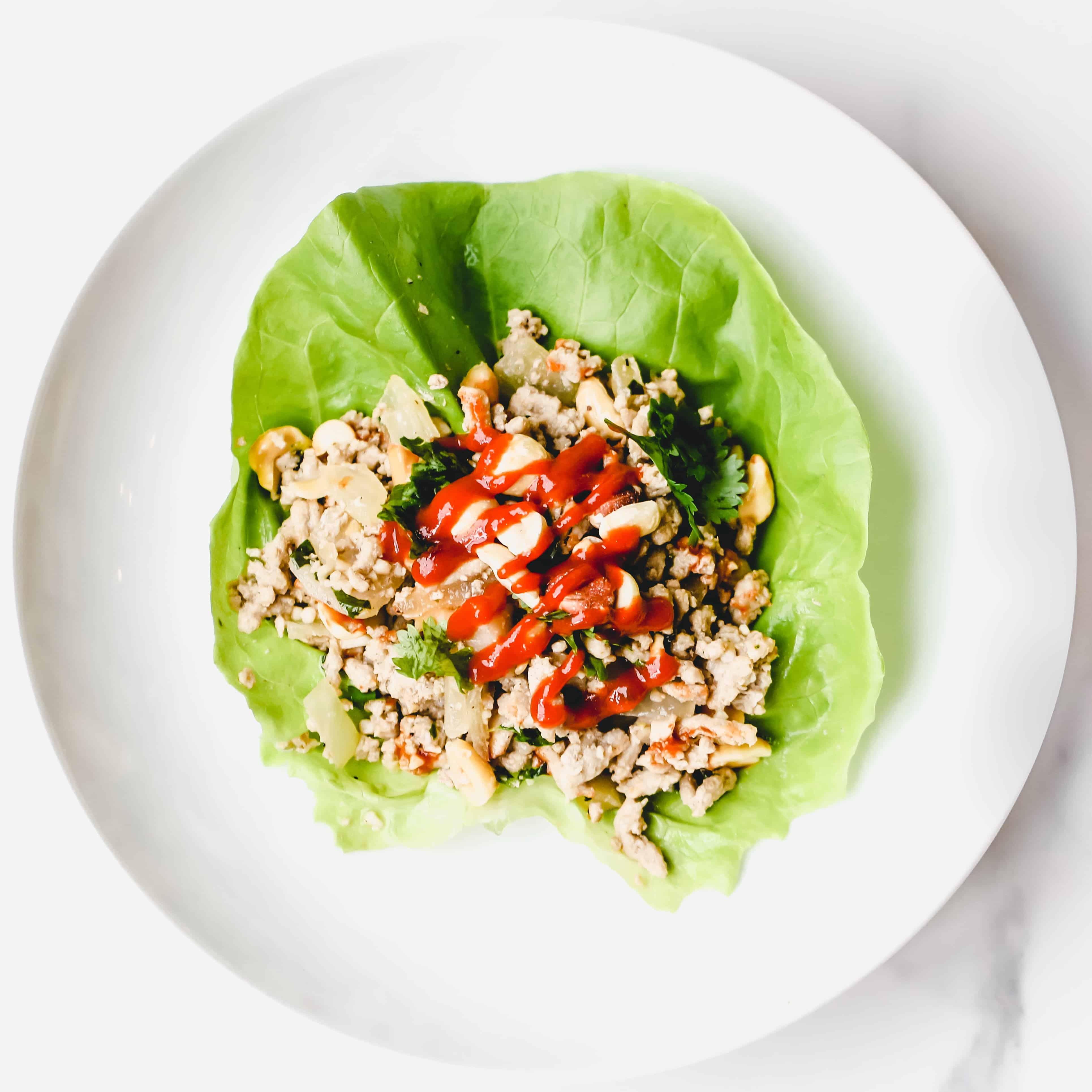 Thai Peanut Lettuce Wraps + 30 Minute Thyroid Cookbook