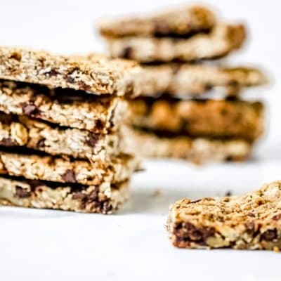 Vegan Crunchy Granola Bar
