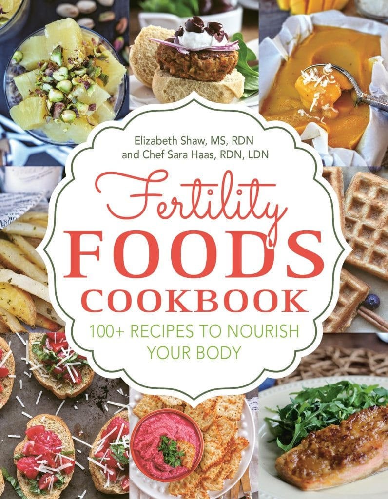 Cover Image of the Fertility Foods Cookbook