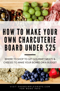 Holiday Finger Foods - A simple guide to build your party menus on a budget and meeting everyone's dietary needs! Plus a charcuterie board! #charcuterieboard #partyfood