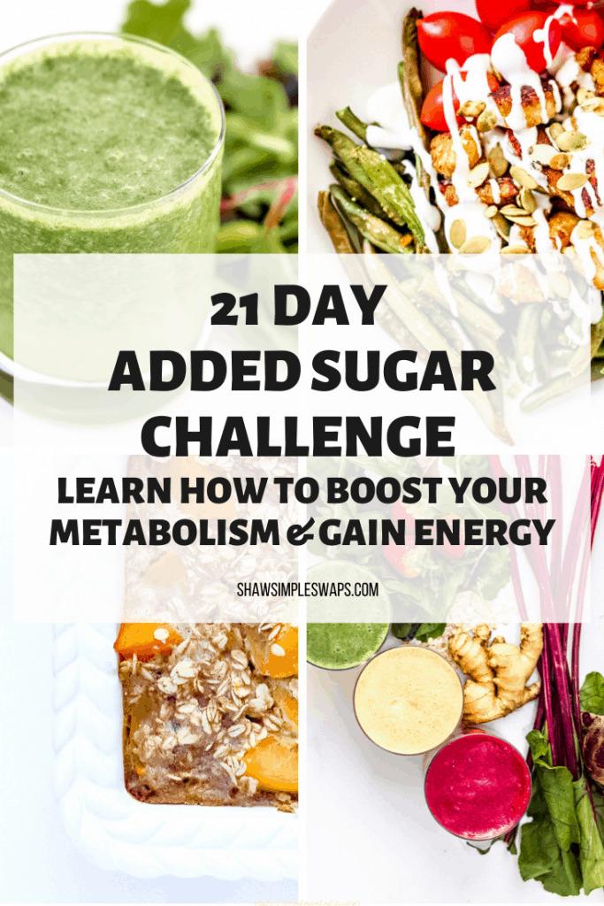 21 Day Added Sugar Challenge