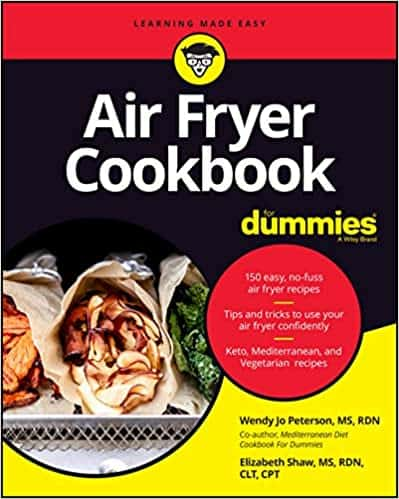 Picture of title cover for Air Fryer Cookbook For Dummies