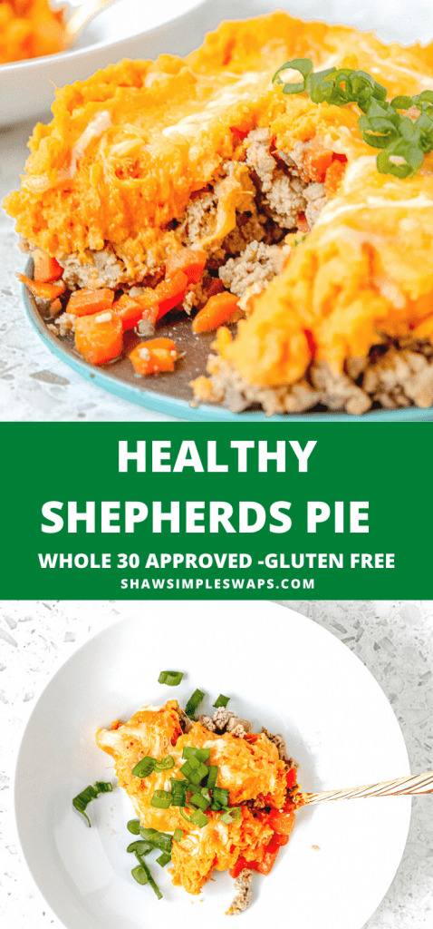 Filling, satisfying, and simple to make, this Healthy Shepherds Pie with Sweet Potato is the perfect family friendly meal. Easy to swap with ingredients you have on hand, and perfect for leftovers, you won't regret making this tonight. Plus, this recipe freezes great for a freezer friendly meal to pull out anytime.