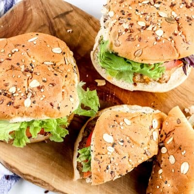 Air Fryer Turkey Burgers