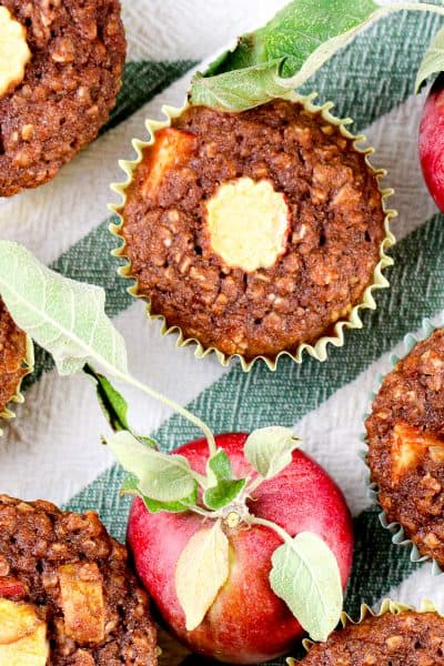 Image of apples and apple muffins.