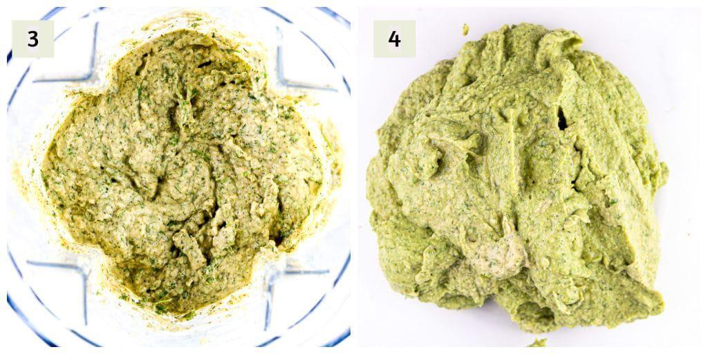 Air Fryer Falafel Process Shots 2