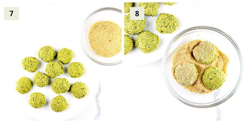 Air Fryer Falafel Process Shots 4