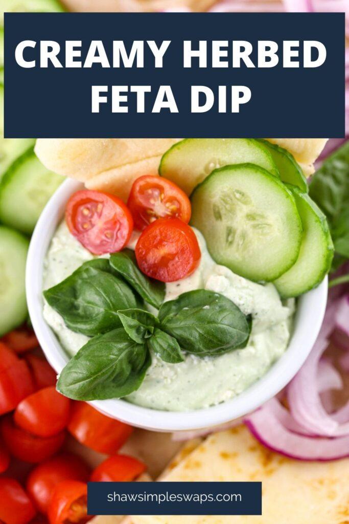 Herbed Feta Dip Recipe Pin